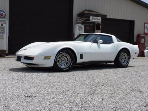 1980 Corvette For Sale >> 1980 Chevrolet Corvette For Sale In Fairmount In