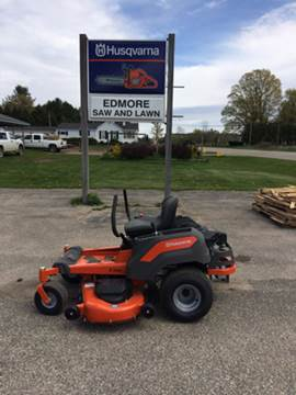 2017 Husqvarna Z254 for sale in Edmore, MI