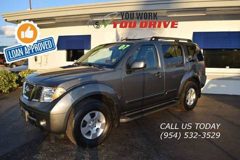 2007 Nissan Pathfinder for sale in Lighthouse Point, FL