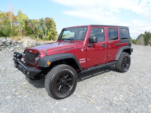 2011 Jeep Wrangler Unlimited for sale in Milton, NY