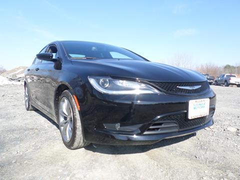 2016 Chrysler 200 for sale in Milton NY