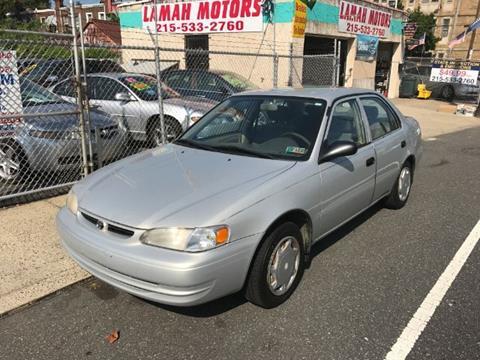 2000 Toyota Corolla for sale in Philadelphia, PA