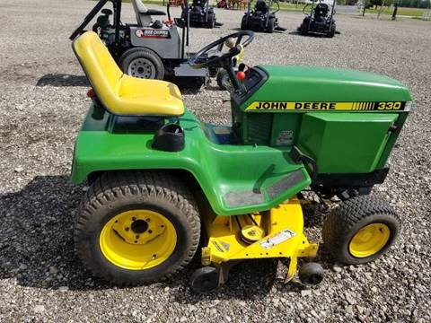 1986 John Deere 330 Diesel 4x4 for sale in Commercial Point, OH