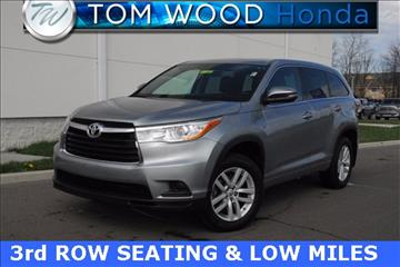 2014 Toyota Highlander for sale in Anderson, IN