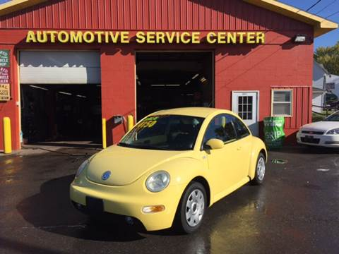 2003 Volkswagen New Beetle for sale at ASC Auto Sales in Marcy NY