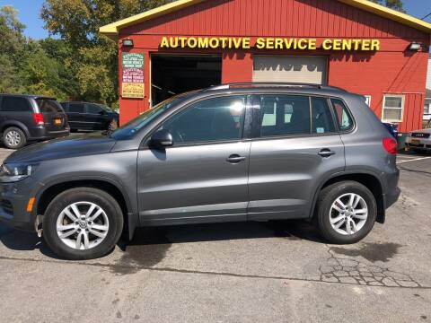 2015 Volkswagen Tiguan for sale at ASC Auto Sales in Marcy NY