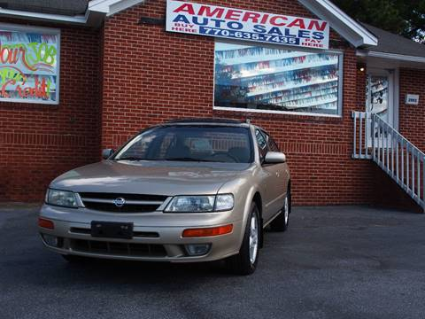 1999 Nissan Maxima for sale in Austell, GA