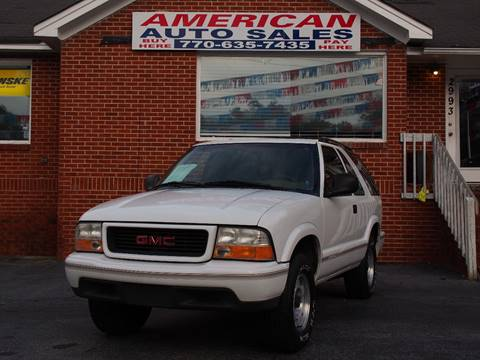 1998 GMC Jimmy for sale in Austell, GA
