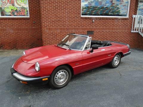 1986 Alfa Romeo Spider for sale in Austell, GA