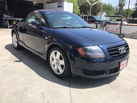 2004 Audi TT for sale at Top Quality Auto Sales in Redlands CA
