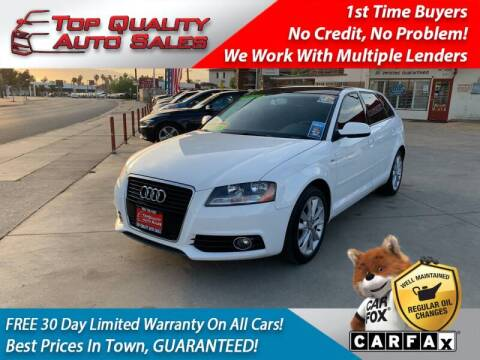 2012 Audi A3 for sale at Top Quality Auto Sales in Redlands CA
