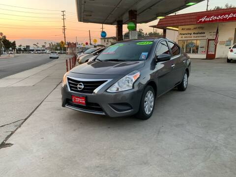 2017 Nissan Versa for sale at Top Quality Auto Sales in Redlands CA