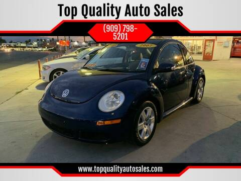 2007 Volkswagen New Beetle for sale at Top Quality Auto Sales in Redlands CA