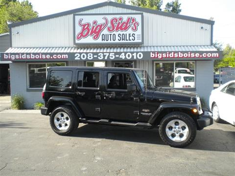 2013 Jeep Wrangler Unlimited for sale in Boise, ID
