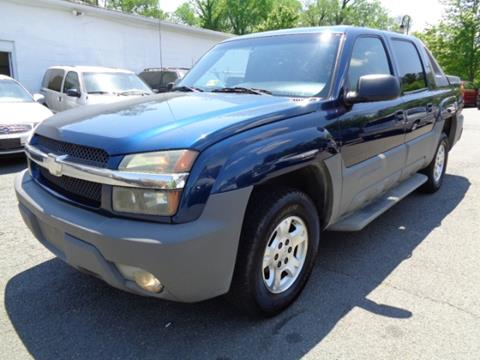 2002 Chevrolet Avalanche for sale in Purcellville, VA