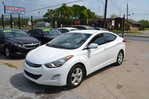 2012 Hyundai Elantra for sale in Houston, TX