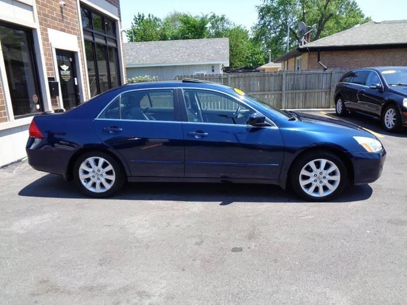 2007 Honda Accord EX-L V-6 4dr Sedan w/Navi (3L V6 5A) In Bridgeview ...