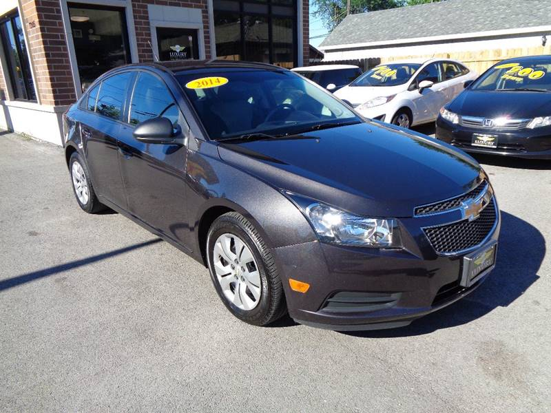 2014 chevrolet cruze ls auto 4dr sedan w 1sb in bridgeview for Luxury motors bridgeview il