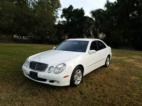 2004 Mercedes-Benz E-Class for sale in Tampa, FL