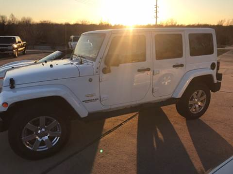 2015 Jeep Wrangler Unlimited for sale at Taylor Auto Sales in Springdale AR