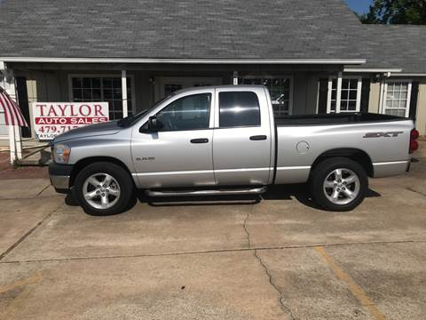 2008 Dodge Ram Pickup 1500 for sale at Taylor Auto Sales in Springdale AR