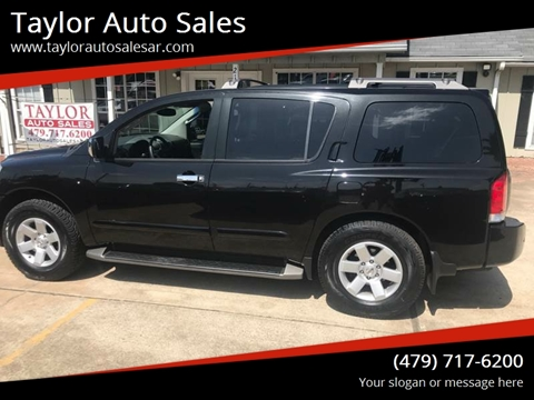 2004 Nissan Armada for sale at Taylor Auto Sales in Springdale AR