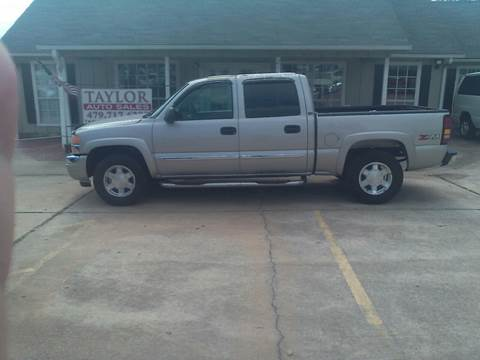 2005 GMC Sierra 1500 for sale at Taylor Auto Sales in Springdale AR