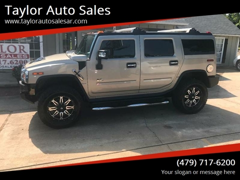 2007 HUMMER H2 for sale at Taylor Auto Sales in Springdale AR