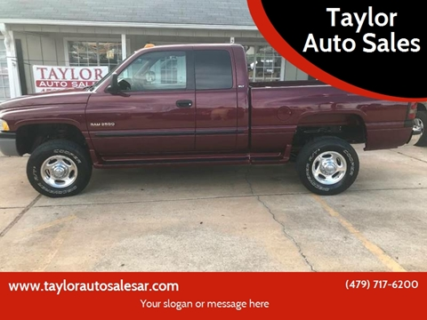 2000 Dodge Ram Pickup 2500 for sale at Taylor Auto Sales in Springdale AR