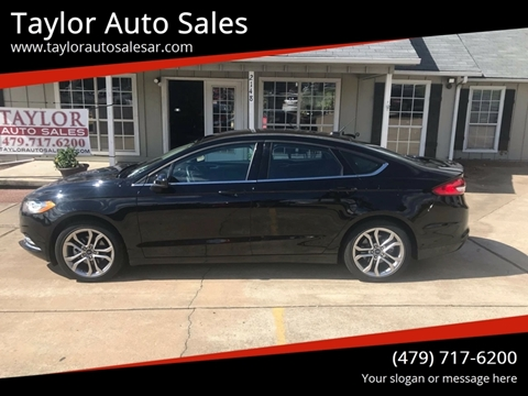 2017 Ford Fusion for sale at Taylor Auto Sales in Springdale AR