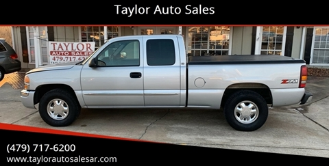 2003 GMC Sierra 1500 for sale at Taylor Auto Sales in Springdale AR