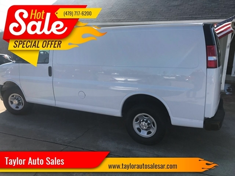 2018 Chevrolet Express Cargo for sale in Springdale, AR