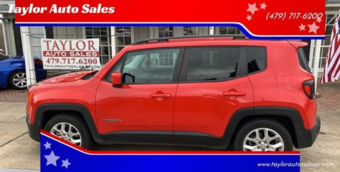 2015 Jeep Renegade for sale at Taylor Auto Sales in Springdale AR