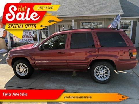 2002 Jeep Grand Cherokee for sale at Taylor Auto Sales in Springdale AR