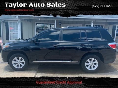 2012 Toyota Highlander for sale at Taylor Auto Sales in Springdale AR