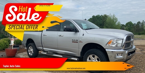 2014 RAM Ram Pickup 2500 for sale at Taylor Auto Sales in Springdale AR