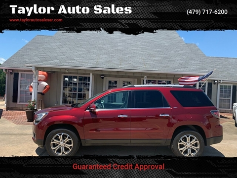 2015 GMC Acadia for sale at Taylor Auto Sales in Springdale AR