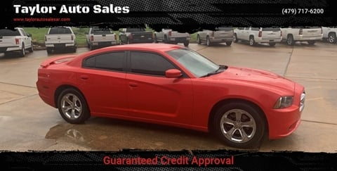 2014 Dodge Charger for sale at Taylor Auto Sales in Springdale AR