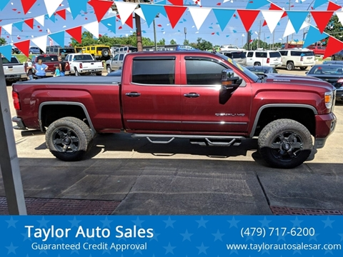 2017 GMC Sierra 2500HD for sale at Taylor Auto Sales in Springdale AR
