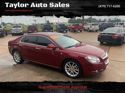 2008 Chevrolet Malibu for sale at Taylor Auto Sales in Springdale AR