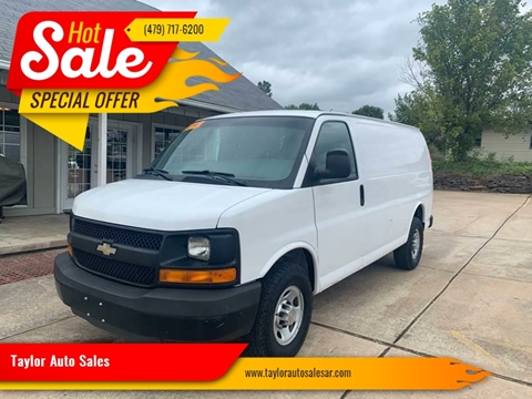 2010 Chevrolet Express Cargo for sale at Taylor Auto Sales in Springdale AR