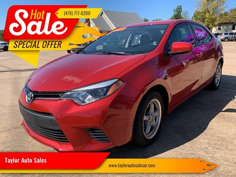 2016 Toyota Corolla for sale in Springdale, AR