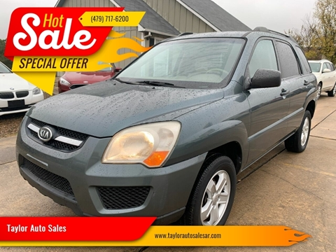 2009 Kia Sportage for sale at Taylor Auto Sales in Springdale AR
