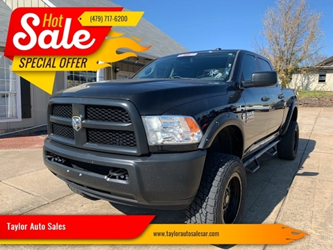 2015 RAM Ram Pickup 2500 for sale at Taylor Auto Sales in Springdale AR