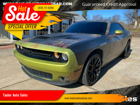 2015 Dodge Challenger for sale at Taylor Auto Sales in Springdale AR