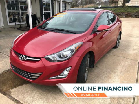 2014 Hyundai Elantra for sale at Taylor Auto Sales in Springdale AR
