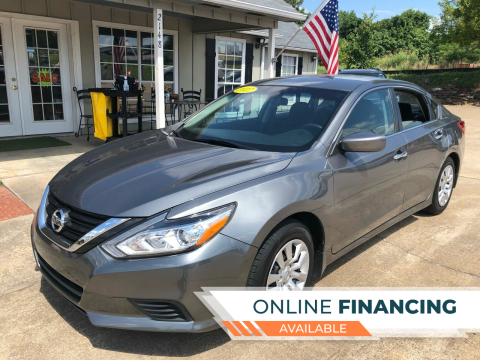 2017 Nissan Altima for sale at Taylor Auto Sales in Springdale AR