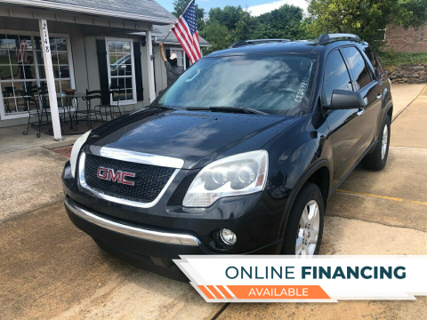 2012 GMC Acadia for sale at Taylor Auto Sales in Springdale AR