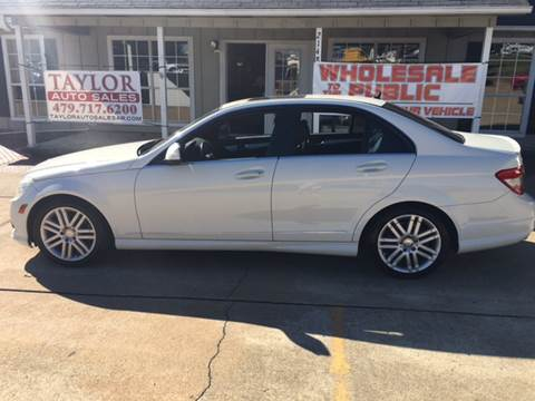 2009 Mercedes-Benz C-Class for sale in Springdale, AR