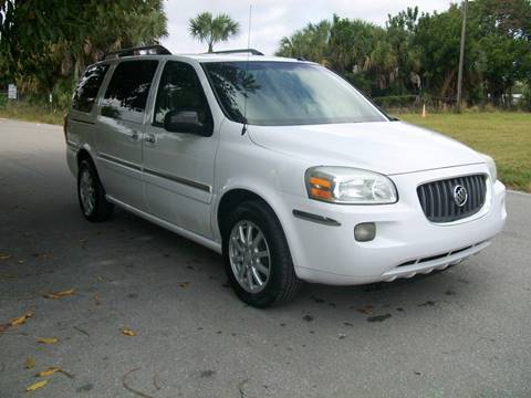 2005 Buick Terraza for sale in West Palm Beach, FL